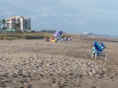 Enjoying a Beach Day at Ocean Village in Hutchinson Island